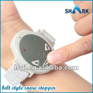 2013 new invention electronic pulse snore stoppper watch and wrist