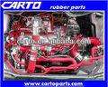 Auto tubo flessibile del silicone/ricambi auto/gommadisilicone tubo flessibile di aspirazione kit per auto da corsa