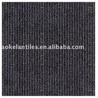 600*600mm Black Rustic Glazed Ceramic Interior Tile