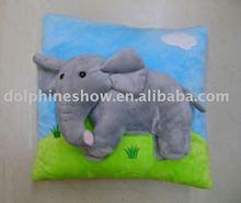 Super soft stuffed plush cushion