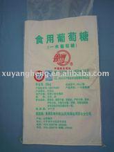 printing pp white bag,pp woven bag for packing sugar