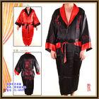 OEM satin bridal bridesmaid long robes dress