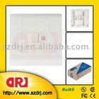 cat5e single port Eur 86*86 wallplate