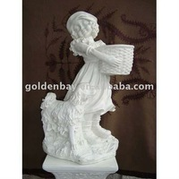 hand carved statue, child statue, marble child sculpture naked nude boy statues