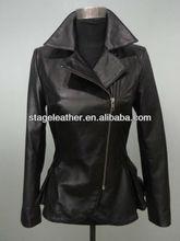 fashion ladies sheep skin coat