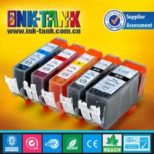 compatible canon ink cartridge for PIXMA IP4810/IP4910/IX6510/MG5210/MG5310/MG6110/MG6210