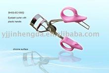 professional carbon steel plastice handle eyelash curler