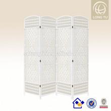 Handmade Flowered Hand Weaving Folding Paper Rope Room Screens Divider/Room screens/Paper Screens
