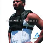 short adjustable weight vest