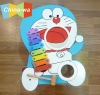 sell top popular 8keys wooden cartoon xylophone