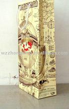 Yellow Wine Paper Bag