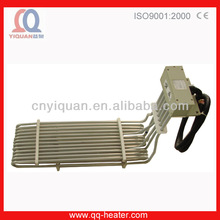Plating Industry Ptfe Water Immersion Electric Coil Heater Element