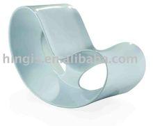 Modern fiberglass rocking chair A37