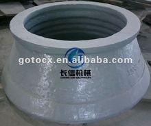 high manganese cone crusher mantle