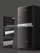 full tower black colour cheap computer case