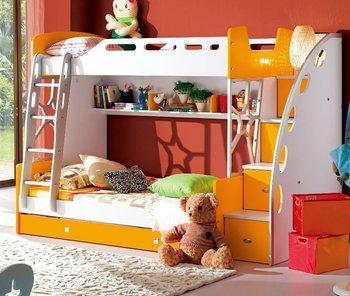 2013 new design kids bunk bed 38A008