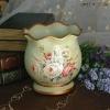 High Quality European Antique Hand Painted Ceramic Vases
