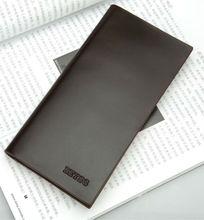 Men designer leather brand wallet