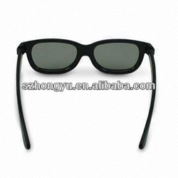 Cinema use circular polarized 3D glasses