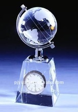great earth ball clock crystal clock global