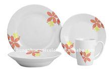 lead free porcelain dinnerware set