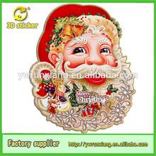 Promotional Santa Claus Face Paper Crafts