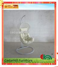 2014 Hot sale modern outdoor garden furniture hanging chair