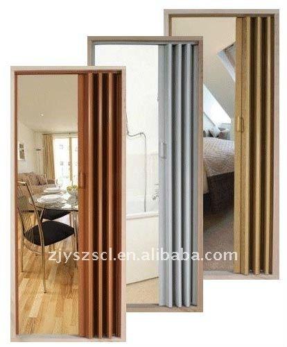 Pvc acorde n plegable de la puerta puerta identificaci n - Puertas de acordeon ...