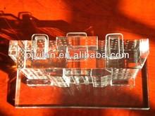 clear crystal building miniature crystal 3d building model crystal building miniature
