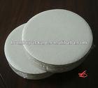 "10"" Corrugated Grease Proof White Cake Circle 250/CS"