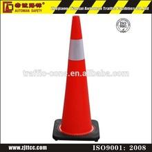 "18"" 28"" 36"" High quality soft flexible safety PVC traffic cone"