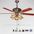 60yft-1081 60 polegadas de tamanho grande de luxo do ventilador de teto