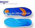 Conforto do pé absorção de choque soft gel palmilhas