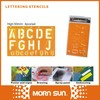 alphabet letters airbrush stencils