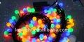 Führte weihnachtslicht led-kugel-schnur licht