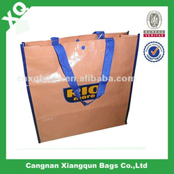 PP Woven Shopping Bag With Lamination