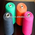 Vender turco reciclado algodão / poliéster oe colorido knitting yarn