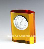 unique crystal desk clock crystal gift crystal table clock crystal small table clocks