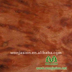 Natural Red Camphor --Burl Veneer