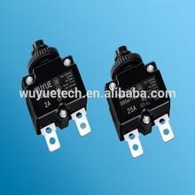 Thermal overload circuit breaker for power supply used in various motors