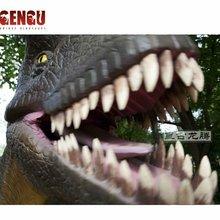 amusement park equipment, giant dinosaur,giant