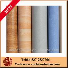 0.35mm-1.6mm waterproof pvc plastic flooring