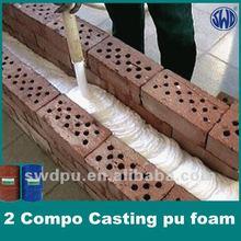 wood-imitation liquid polyurethane foam injection