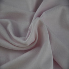 "65"" wide 130g/sqm plain dyed jersey knit bamboo cotton fabric"