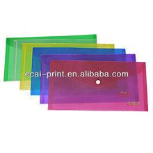 China Cheap decorative/document plastic file folder