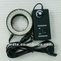 D60mm 60 Pcs Microscope LED Ring Light HX6060LED Optional Lighting Color(Warm/White) for Microscopes