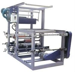 One colour plastic bag printing machinery