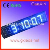 remote control countdown luminous blue desktop digital mini led clock