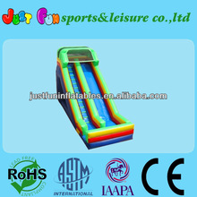 Tropical Commercial Inflatable Toboggan Slide