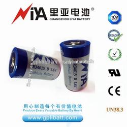 er34615 3.6v volta primary lisocl2 lithium battery cell batteries energizer car sizes